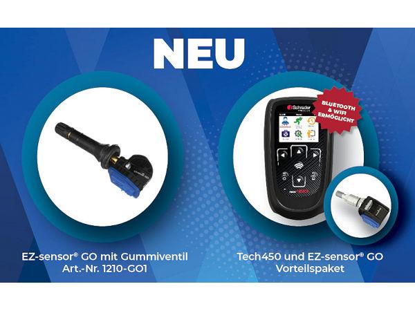 Bei der Automechanika hat der RDKS-Anbieter Schrader zwei Neuheiten bzw. Erweiterungen in seinem Lieferprogramm vorgestellt (Bild: Schrader)