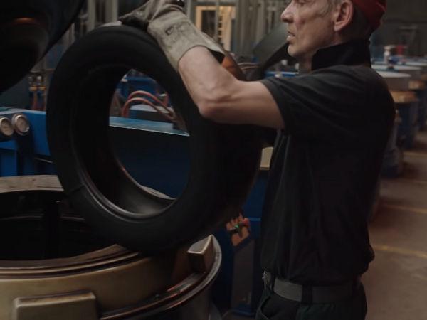 Reifen Hinghaus mit Sitz in Dissen am Teutoburger Wald ist mehr oder weniger der einzige maßgebliche Runderneuerer von Pkw-Reifen in Deutschland, der seine unter dem Markennamen King Meiler gefertigten Produkte breit im Markt anbietet (Bild: YouTube/WDR/Screenshot)