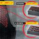 """Pirelli hat seinem neuen Winterreifen """"sich selbst verlängernde Lamellen"""" spendiert, die mit zunehmender Abnutzung des Gummis ihr Design von einer linearen in eine Zickzackform ändern, womit eine vergrößerte Gesamtlänge aller Lamellen verbunden wird (Bild: Pirelli)"""
