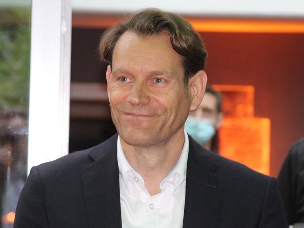 Nicolai Setzer, Vorstandsvorsitzender Continental, sieht sich durch die neue Struktur des Konzerns gut aufgestellt für den tiefgreifenden Wandel der Mobilitätsindustrie (Bild: NRZ/Christian Marx)